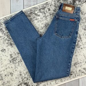 Lawman vintage high waisted tapered leg mom jeans